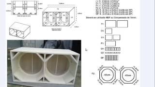 """getlinkyoutube.com-Projeto 6# Caixa euclides 18"""" câmara dupla"""