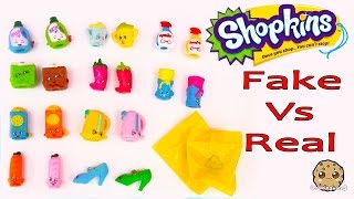getlinkyoutube.com-Shopkins Season 2 Official 12 Pack Vs Fake + 4 Blind Bags Comparing Toy Video Cookieswirlc