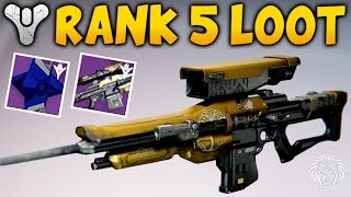 Destiny: IRON BANNER REWARDS! Rank 5 Package Opening, Weylorans March & Iron Ghost Shell