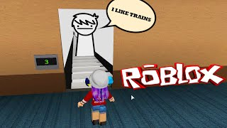 getlinkyoutube.com-ROBLOX LET'S PLAY THE NORMAL ELEVATOR | I LIKE TRAINS | RADIOJH GAMES