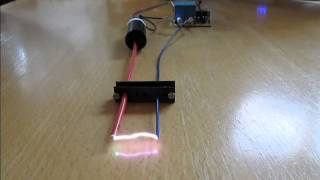 getlinkyoutube.com-How To Make A Stun Gun High Voltage Circuit With Xgen Pulse Trigger Transformer