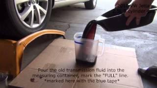 getlinkyoutube.com-2010 2.5L Volkswagen Jetta Transmission Service