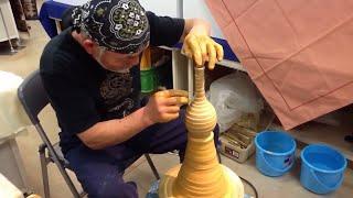 getlinkyoutube.com-Amazing Japan:Japanese Pottery Master Kumagae Yasuo