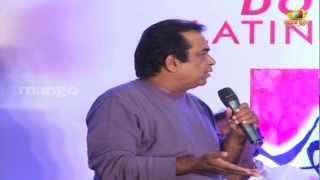 getlinkyoutube.com-Brahmanandam joking on Trivikram Srinivas - Julayi Double Platinum Disc Function