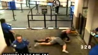 Off-duty cop helps TSA