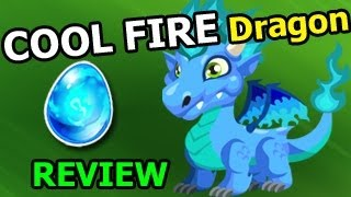 getlinkyoutube.com-How To Breed COOL FIRE DRAGON in Dragon City Level Up and Combat Attacks