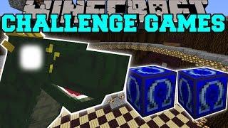 getlinkyoutube.com-Minecraft: BASILISK CHALLENGE GAMES - Lucky Block Mod - Modded Mini-Game