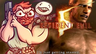 Resident Evil 5 - w/ Cry [Part 16] - The End
