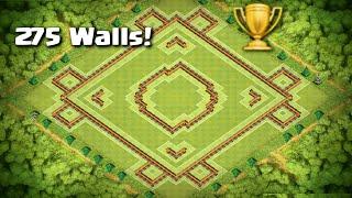 "Clash of Clans - AMAZING Town Hall 10 Trophy/War Base ""Crestfallen"" | 275 Walls"