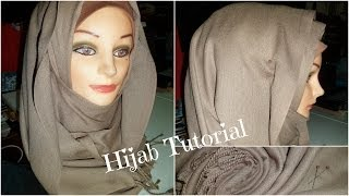 getlinkyoutube.com-Everyday Hijab Tutorial (Under Chin Coverage) | Pashmina Hijab Tutorial