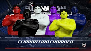 BLUE HULK vs BLACK HULK vs YELLOW HULK vs RED HULK vs WHITE HULK vs PURPLE HULK - EPIC BATTLE