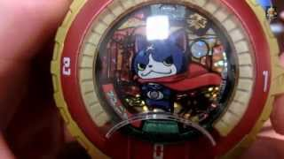 getlinkyoutube.com-【Toy】妖怪ウォッチ 映画化記念メダル フユニャンゲット!Yokai watch Fuyunyan get!