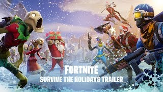 Fortnite - Survive the Holidays Announce Trailer