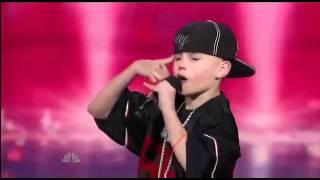 getlinkyoutube.com-FacebookClips - Supertalent 11 jähriger macht Eminem Konkurrenz Unglaublich gut
