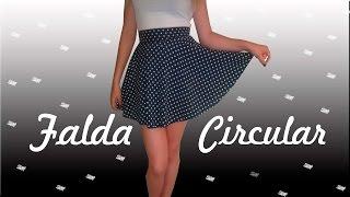 getlinkyoutube.com-Falda Circular 2.0 (Sin maquina de coser) - Mapo ♥