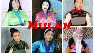 getlinkyoutube.com-Disney's Mulan Makeup Tutorial