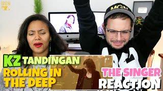 KZ Tandingan - Rolling in the Deep   Singer 2018   Episode 5   REACTION