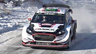 getlinkyoutube.com-Rallye Monte Carlo WRC 2017 SS4 & SS7 - PURE Car Sounds!