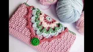 getlinkyoutube.com-عمل جراب كروشية للأيباد  HOW TO MAKE CROCHET COVER FOR iPAD