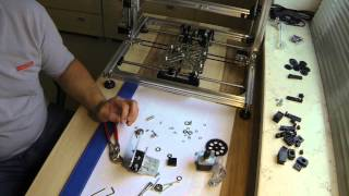 getlinkyoutube.com-K8200 der Zusammenbau des 3D - Druckers