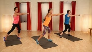 getlinkyoutube.com-Calorie Burning Cardio Workout | Full Body Fitness | Class FitSugar