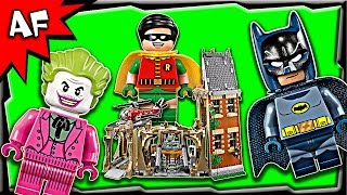 getlinkyoutube.com-Lego Batman BATCAVE Classic 1960s TV Series 76052 Stop Motion Build Review