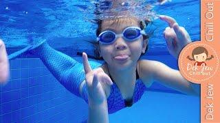 getlinkyoutube.com-เด็กจิ๋วว่ายน้ำด้วยชุดหางนางเงือก Mermaid [N'Prim W289]