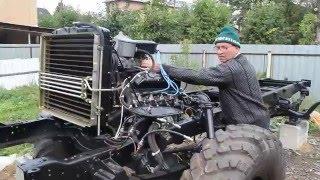 getlinkyoutube.com-Первый запуск двигателя ГАЗ-66