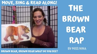 "Children's Song/Book: Brown Bear Rap (""Brown Bear, Brown Bear What Do You See?"")"