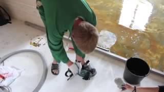 getlinkyoutube.com-3D пол в ванной своими руками