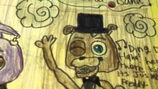 getlinkyoutube.com-All Of My FNAF Drawings! Part 2! (\^.^/)