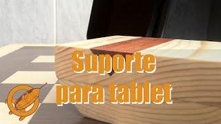 getlinkyoutube.com-Como fazer Suporte para Tablet com design incrível e madeira reciclada