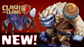 Clash of Clans - NEW 2016 TROOP WISHLIST! The Ghost, Mole, Yeti, Worm! Update Clash of Clans!