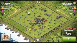 getlinkyoutube.com-Aldea que jamas ha usado gemas XD - Mundo Clash of Clans #47