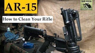 getlinkyoutube.com-How to Clean the AR 15 / M4 Carbine