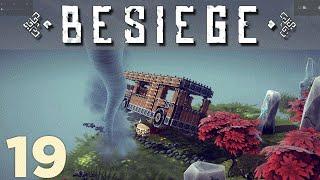 getlinkyoutube.com-Lets Play Besiege: Tornado Attack! - Episode 19