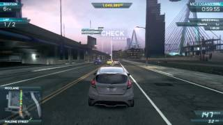 getlinkyoutube.com-Need for Speed Most Wanted 2012 - Ford Fiesta ST Gameplay