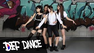 getlinkyoutube.com-f(x)(에프엑스) Red Light(레드 라이트) Dance Cover 데프댄스스쿨 수강생 월평가 최신가요 방송댄스 데프컴퍼니 defdance kpop cover 댄스학원