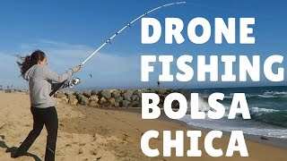 getlinkyoutube.com-DRONE FISHING Bolsa Chica Beach - Episode 006