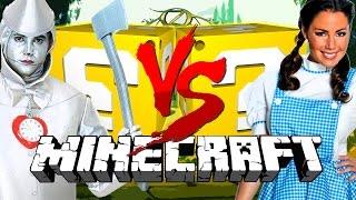 getlinkyoutube.com-Minecraft: OZ LUCKY BLOCK CHALLENGE | WIZARD BATTLES!!