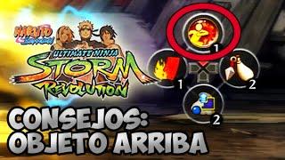 getlinkyoutube.com-Consejos para mejorar: Objeto Arriba (Guard Break) | Naruto Storm Revolution