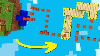DON'T FALL OFF THE SNAKE!! (Minecraft)