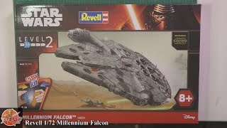 getlinkyoutube.com-Revell 1/72nd Millennium Falcon review and build video