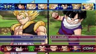 getlinkyoutube.com-Dragon ball z budokai tenkaichi 3 all characters and transformations