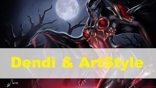 getlinkyoutube.com-NaVI Dendi & ArtStyle plays RMM + Commentary | Dendi Stream