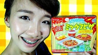 getlinkyoutube.com-รีวิว ขนมญี่ปุ่นเซ็ตพิซซ่า มหาสนุก ทำเอง Popin Cookin