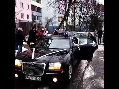 Авто Chrysler 300C на свадьбу Минск
