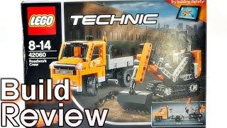 [생방송] 레고 테크닉 42060 도로 작업 크루 트럭,궤도형 굴착기 조립 과정 리뷰 LEGO Technic Roadwork Crew
