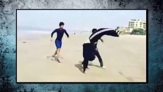 getlinkyoutube.com-Tiger Shroff Showing Amazing Stunts