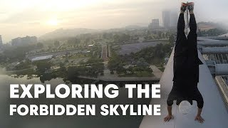 getlinkyoutube.com-Exploring the Forbidden Skyline in Virtual Reality | Introducing the Cast of URBEX